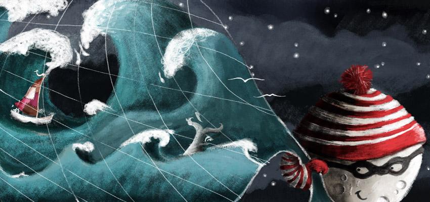 Emily und das Meer - Der Mond