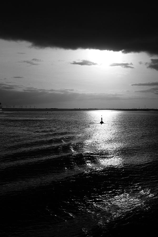 Novembertag auf der Nordsee